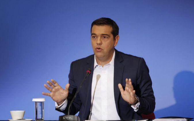 El presidente griego Alexis Tsipras.