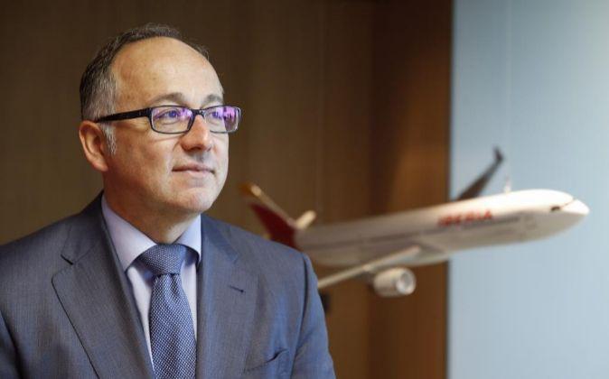El presidente ejecutivo de Iberia Luis Gallego.