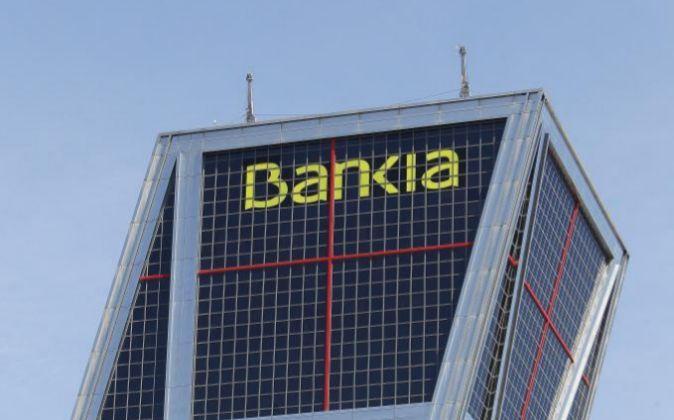 Sede de Bankia en la Plaza de Castilla de Madrid.