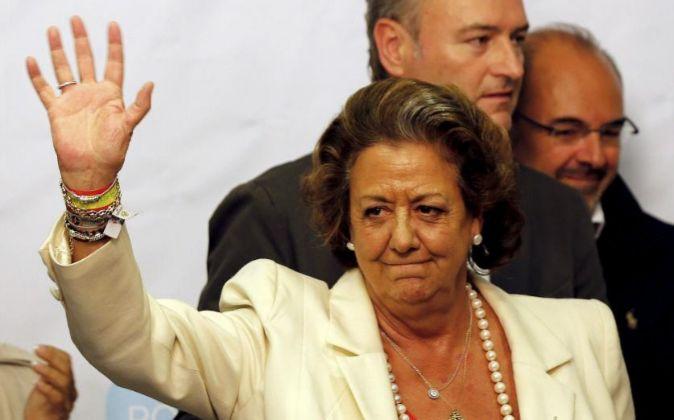 Rita Barberá y Alberto Fabra.
