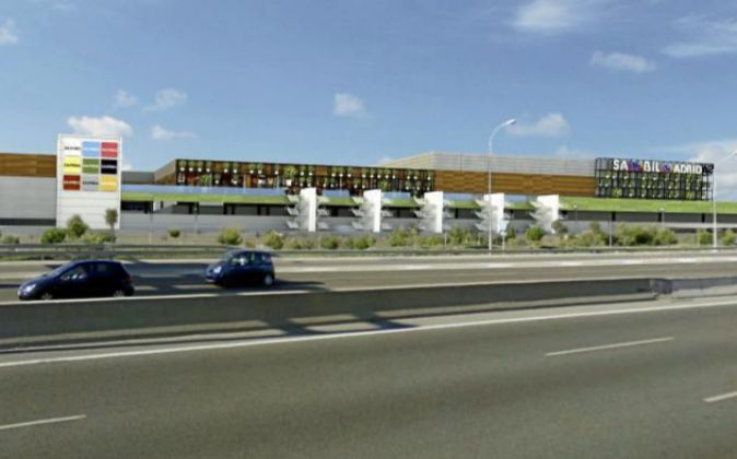 Centro comercial Sambil Oulet en Madrid.