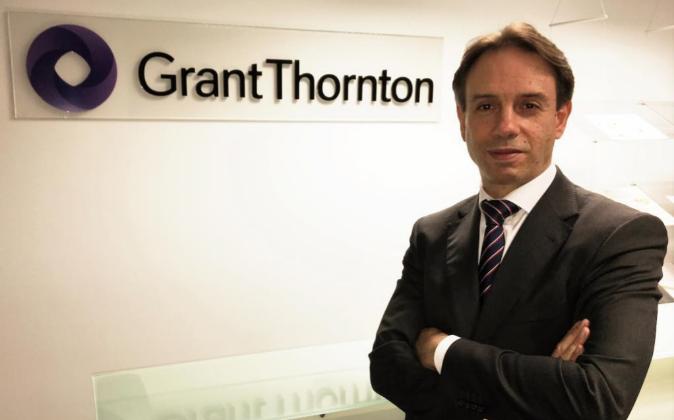 Pablo Azcona, socio de fiscal de Grant Thornton en la oficina de...