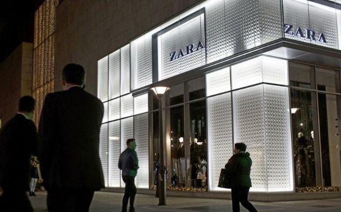 Imagen de una tienda de Zara en San Sebastian