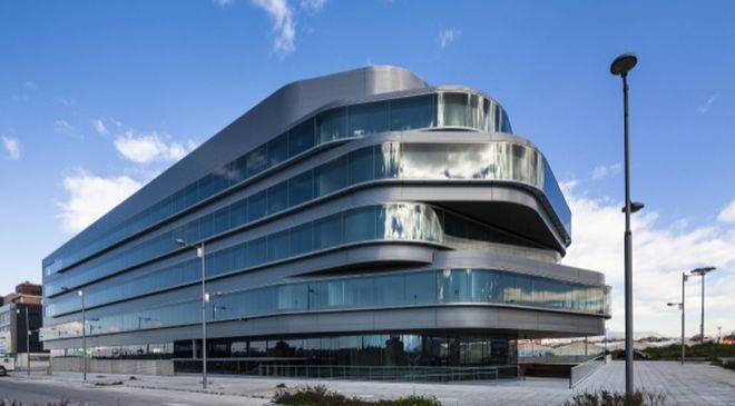 Centro de desarrollo de software de Unit4 en Granada.