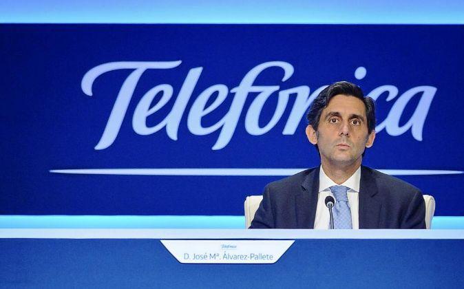 Jose María Álvarez Pallete, presidente de Telefónica.