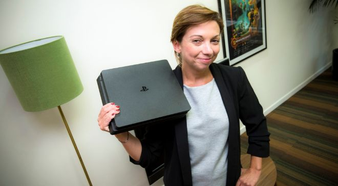 Liliana Laporte, directora general de Sony Interactive Entertainment...