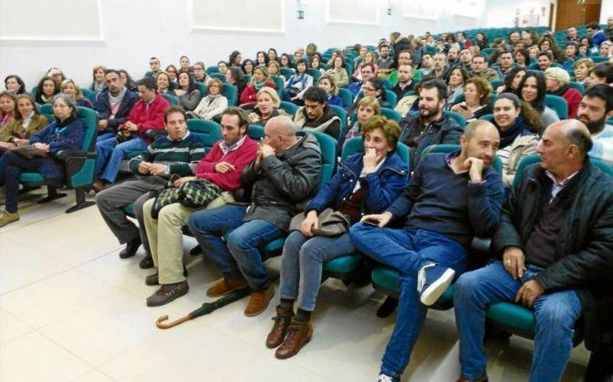 Asamblea de profesores de Religión, reunidos este verano en Badajoz...