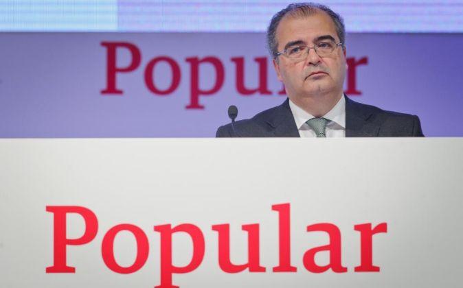 Ángel Ron, presidente de Grupo Popular.