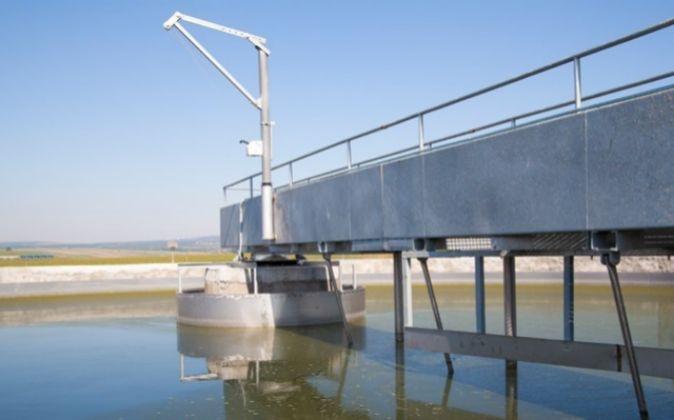 Aguas residuales en Almendralejo (Badajoz)