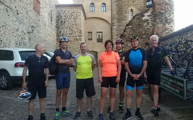 Representantes del cicloturismo en Noruega, Holanda, Reino Unido y...