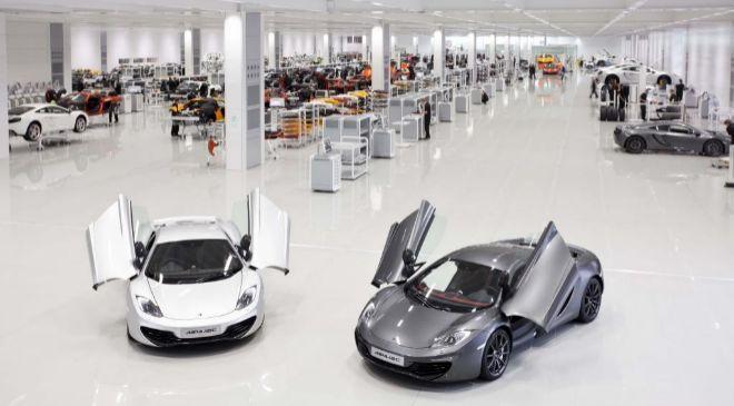 Fábrica de Woking, propiedad de McLaren.