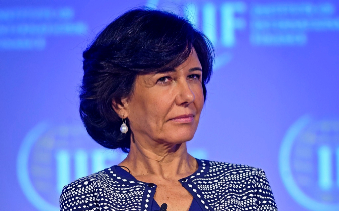 Las presidenta del Grupo Santander, Ana Botín.