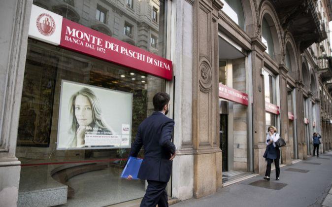 Sucursal de Banca dei Monte dei Paschi di Siena (BMPS).