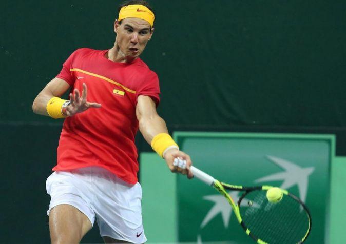 El tenisto español, Rafa Nadal