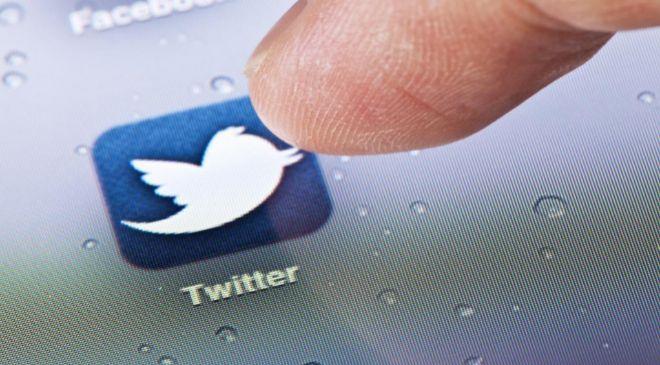 Icono de la app de Twitter.