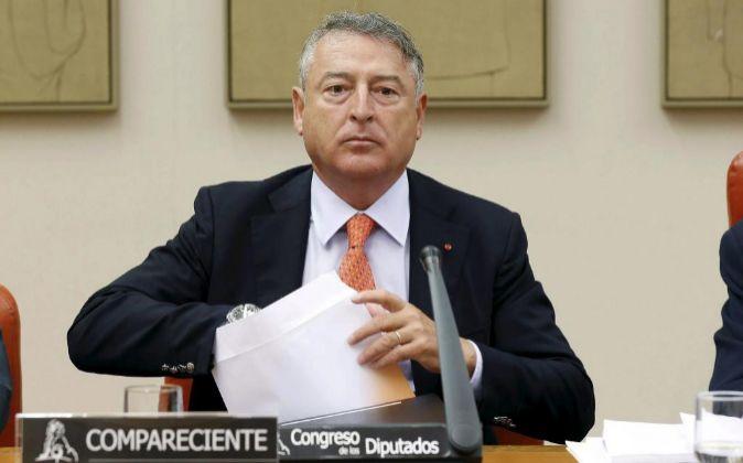 El presidente de RTVE José Antonio Sánchez.