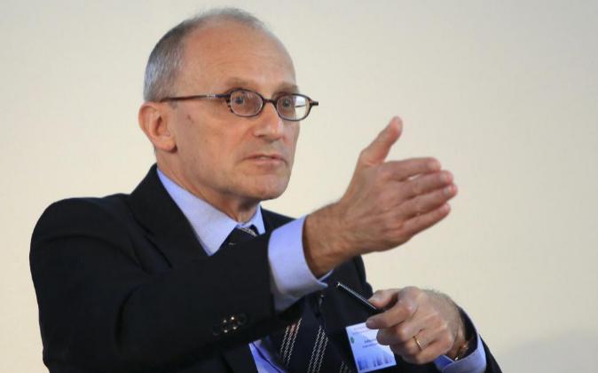 Andrea Enria, presidenta de la Autoridad Bancaria Europea