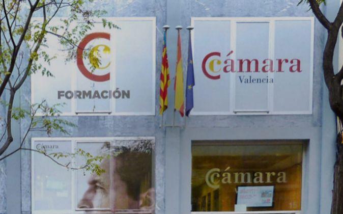 Sede de la Cámara de Comercio de Valencia.