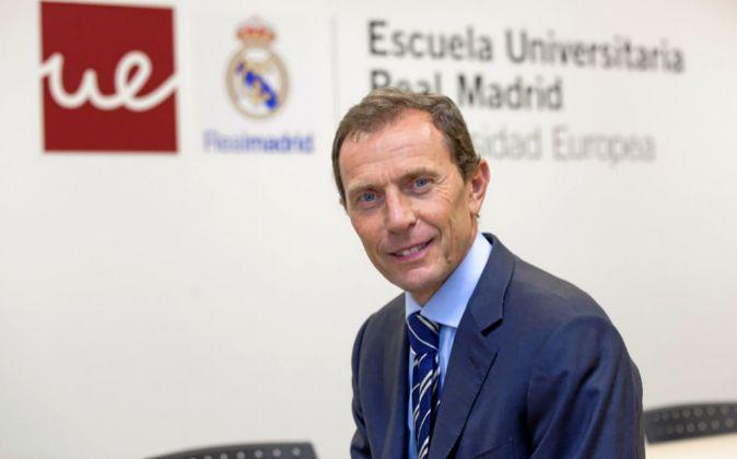 Emilio Butragueño, director general de la escuela.