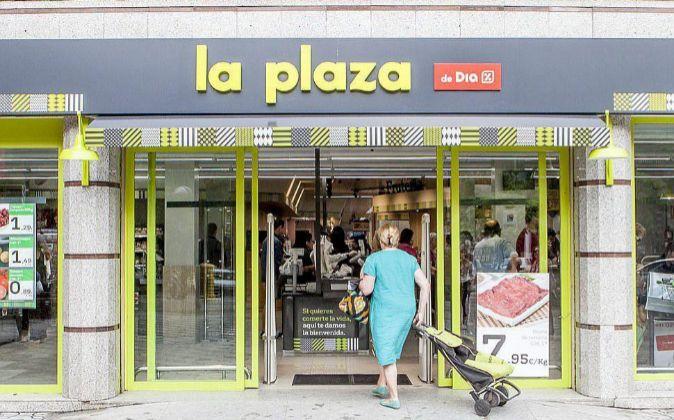 Imagen de un establecimiento La Plaza, del grupo Dia.