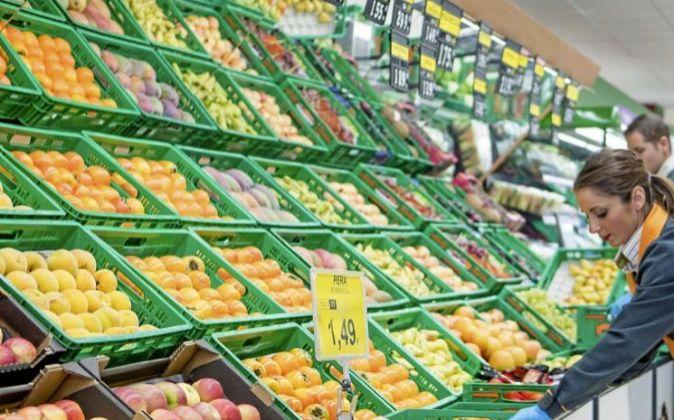 Un supermercado en Cataluña.