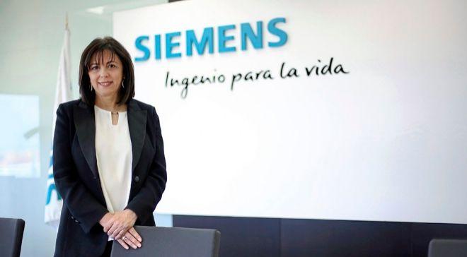 Rosa García, presidenta de Siemens España.