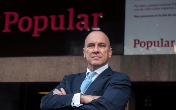 Pedro Larena, consejero delegado de Banco Popular.