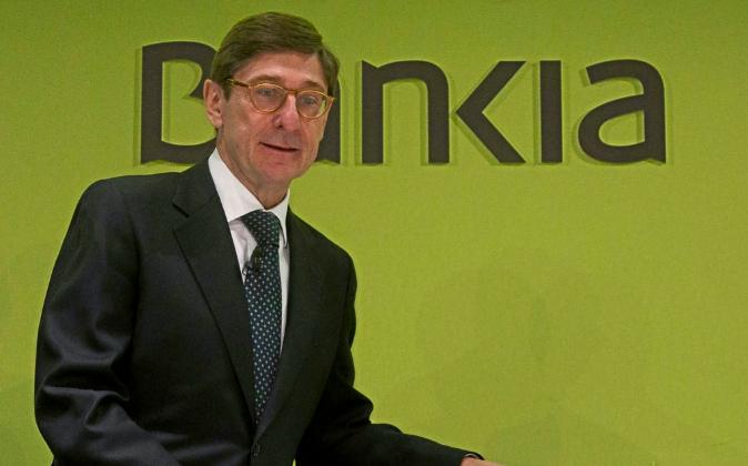José Ignacio Goirigolzarri, presidente de BFA-Bankia.