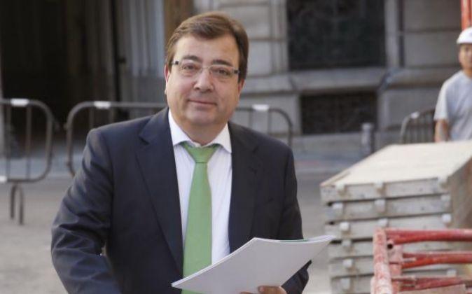 El presidente de Extremadura, Guillermo Fernández Vara.