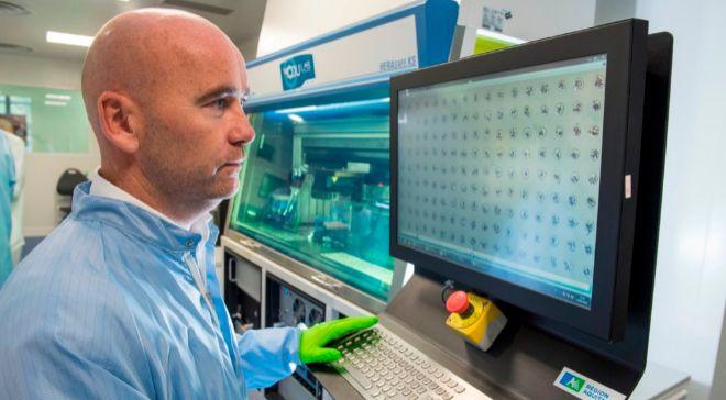 Fabien Guillemot, presidente y director científico de Poietis.