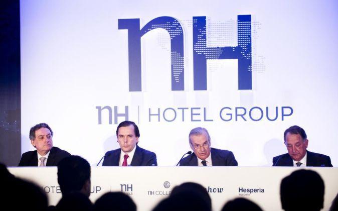 Junta de accionistas de NH Hoteles.