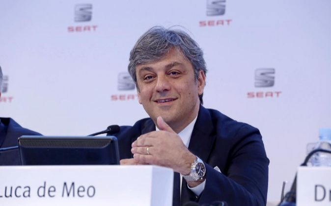 Luca de Meo, consejero delegado de Seat.