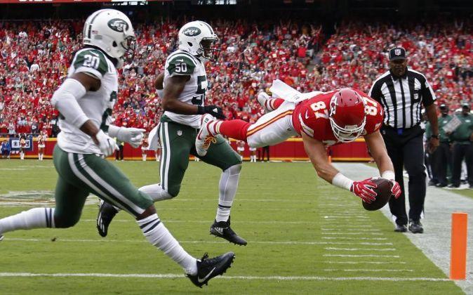 Partido de NFL entre los New Jork Jets y los Kansas City Chiefs