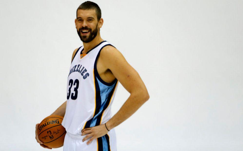 El jugador de los Memphis Grizzlies Marc Gasol (31 años), es el...