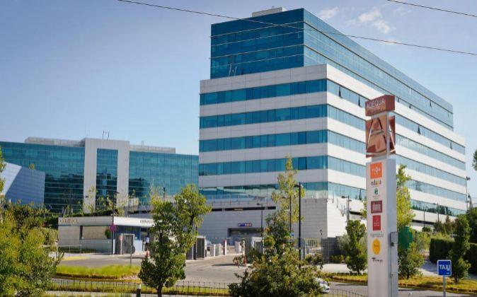 Complejo de oficinas Adequa, en Las Tablas (Madrid).