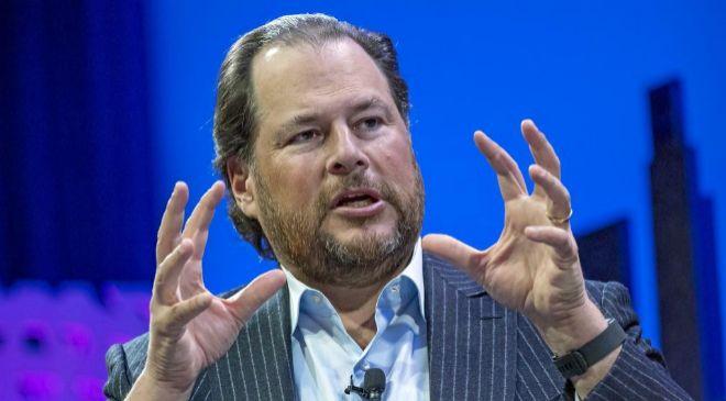 Marc Benioff, consejero delegado de Salesforce.
