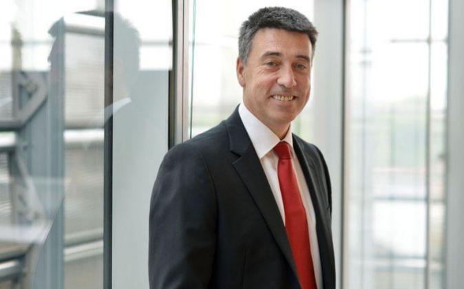 Nathan Bostock, consejero delegado de Santander UK.