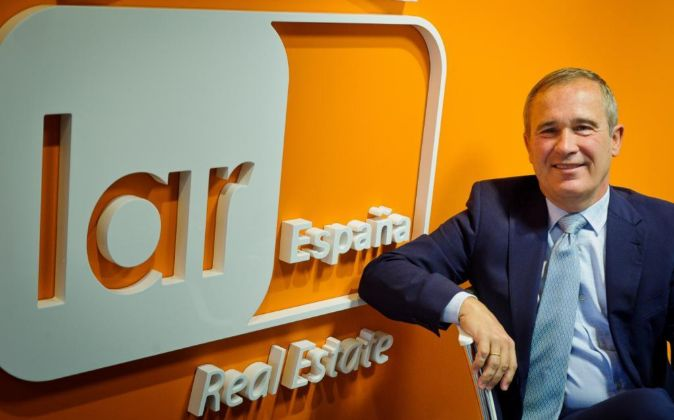 Presidente de Grupo Lar España, José Luis del Valle.