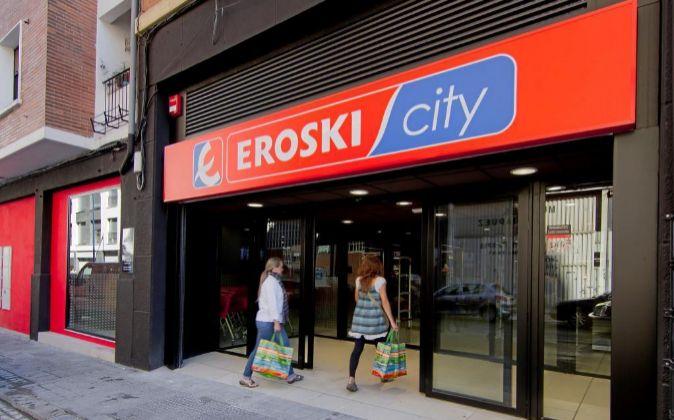 Supermercado Eroski City.