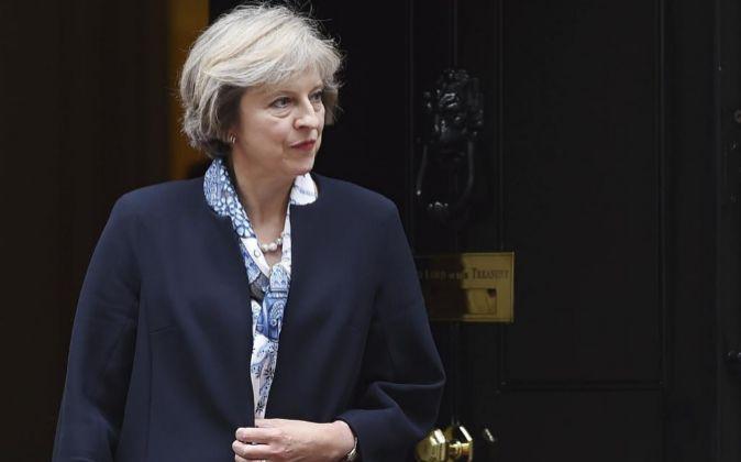La primera ministra Theresa May.
