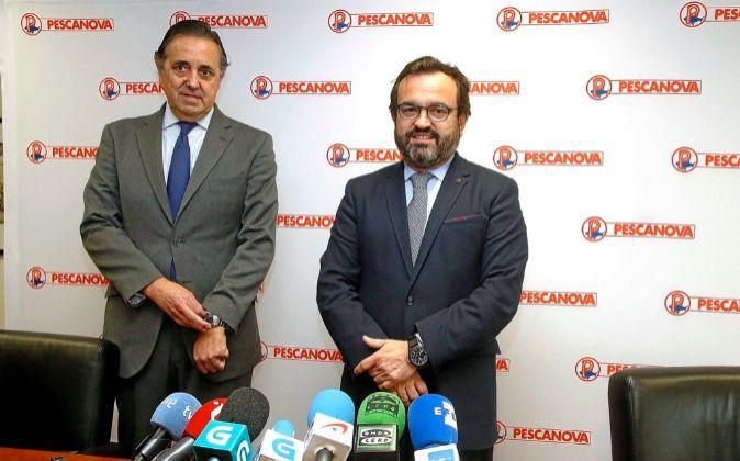 Jacobo González-Robatto e Ignacio González, presidente y consejero...
