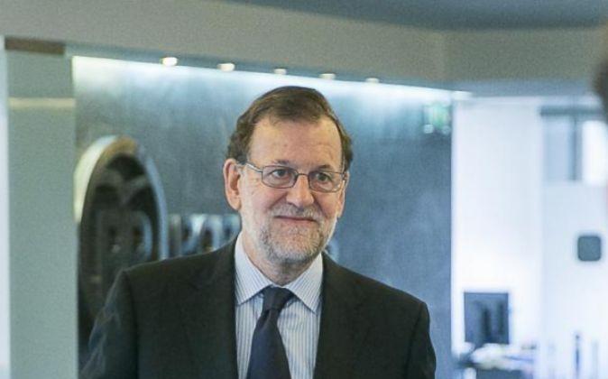 El presidente del Ejecutivo en funciones y PP, Mariano Rajoy.