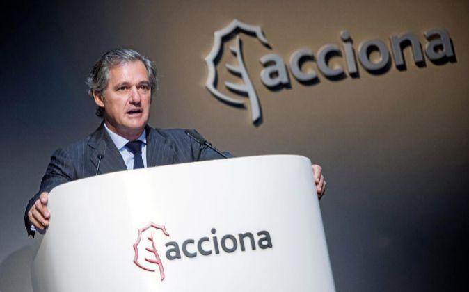 José Manuel Entrecanales, presidente ejecutivo de Acciona.