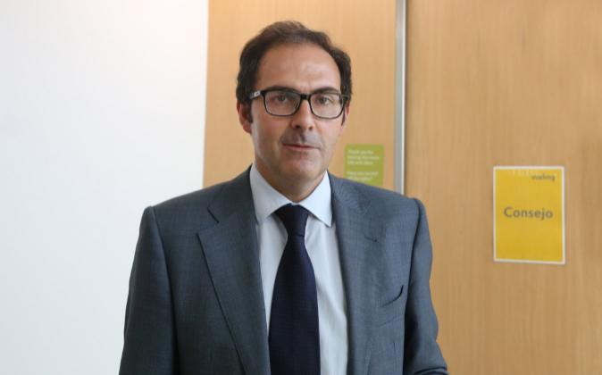 El presidente de Vueling, Javier Sánchez-Prieto.