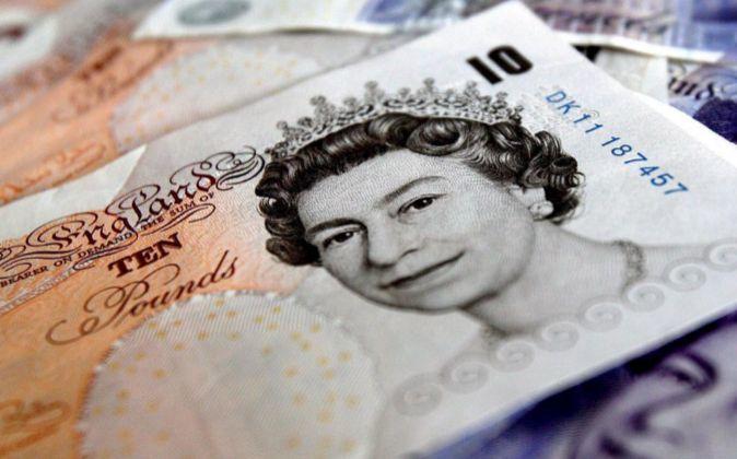 Imagen de un billete de diez libras
