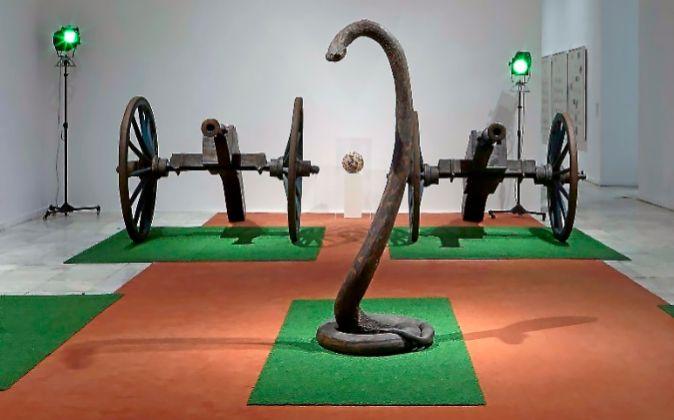 La muestra reúne obras del MoMA,de la Tate Gallery de Londres,...