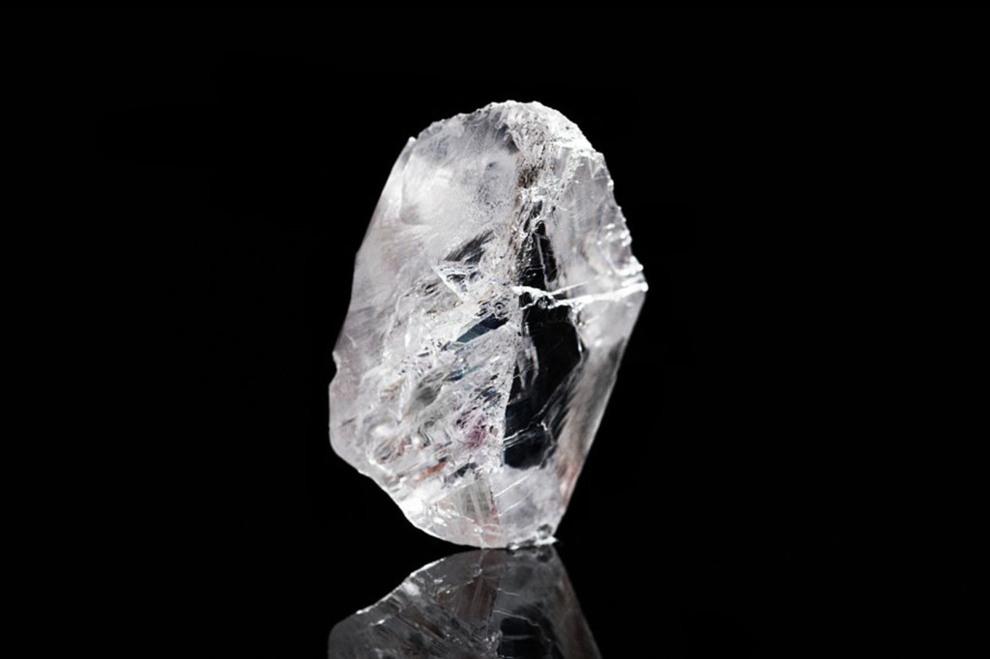 813 quilates, 6 cm y 63 millones de dólares. Así es el diamante más...