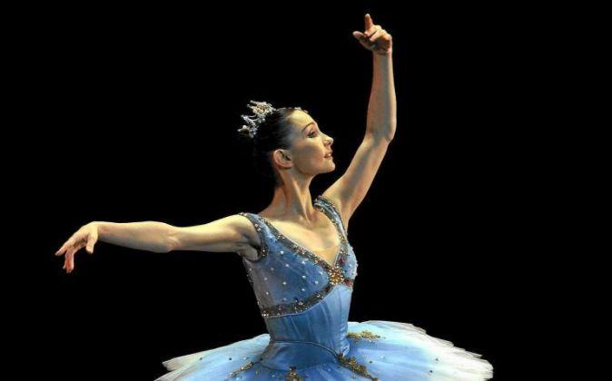 La bailarina española Tamara Rojo interpretando 'El...