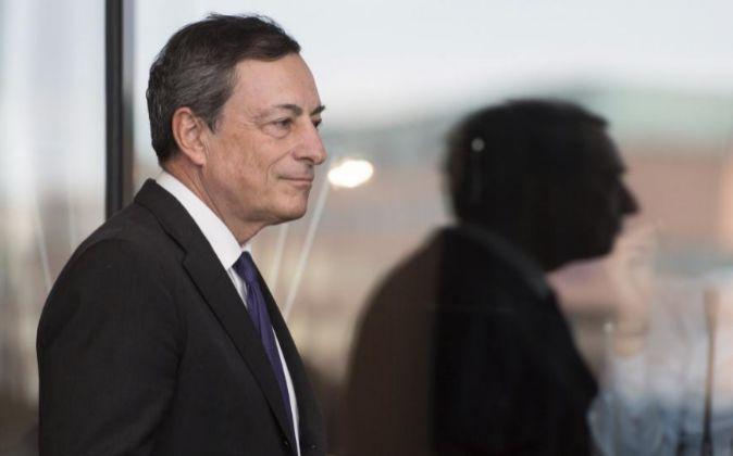 El presidente del Banco Central Europea (BCE), Mario Draghi.