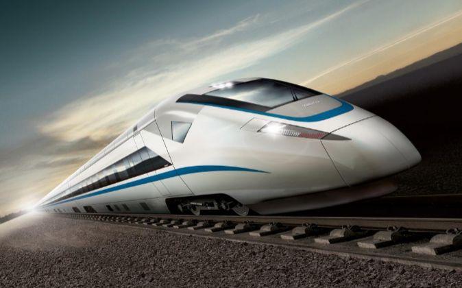 El 'Zefiro' es el tren de alta velocidad con el que...